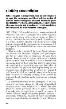 Preview of Talking about religion