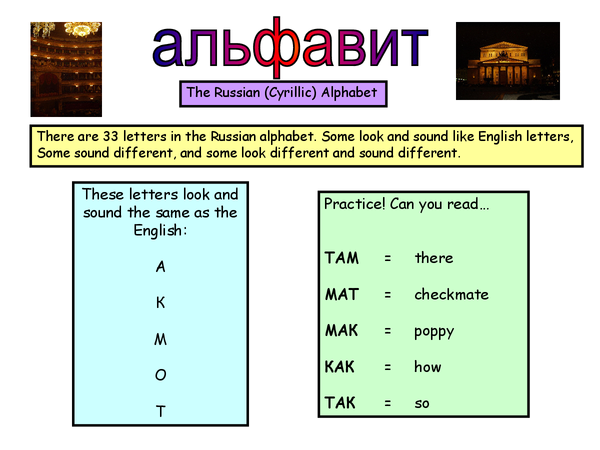 Preview of Taster session on Russian for beginners