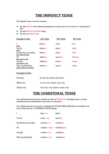 Preview of Tenses Help