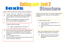 Preview of text 2 eating out