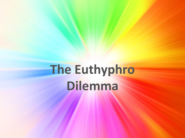 Preview of The Euthyphro Dilemma