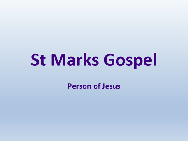 Preview of The Person of Jesus - Topic 4 // UNIT 5
