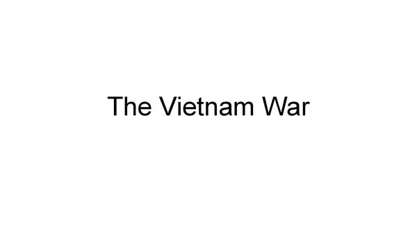 Preview of The Vietnam War