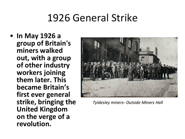 Preview of The 1926 General Strike