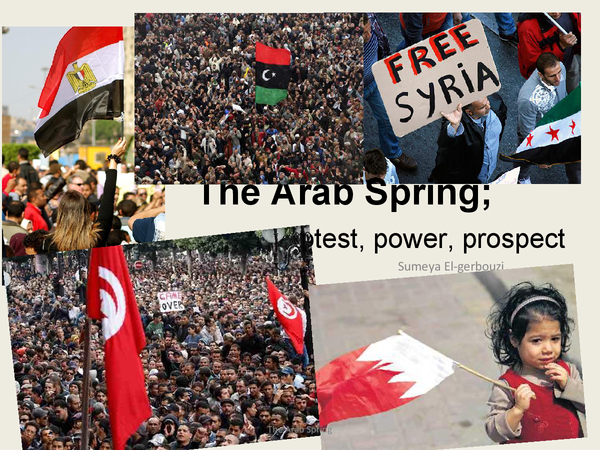 Preview of the arab spring