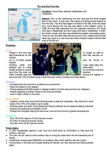 Aral Sea - ldeo.columbia.edu