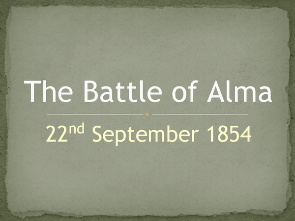 Preview of The Battle of Alma