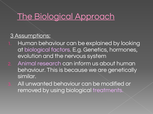 Preview of The Biological Approach