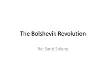 Preview of The Bolshevik Revolution: 1917-1924