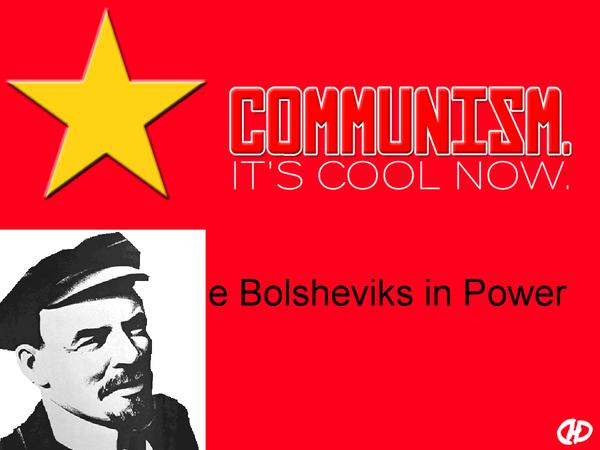 Preview of The Bolsheviks in Power - Lenin