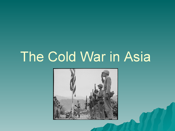 Preview of The Cold War in Asia