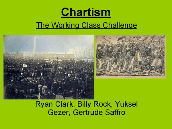 Preview of The Condition Of England 1815 - 1851: Chartism