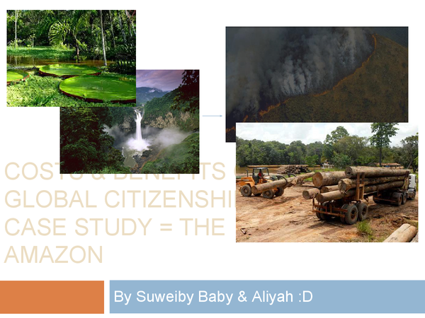Preview of The Costs and Benefits of Global Citizenship - The amazon