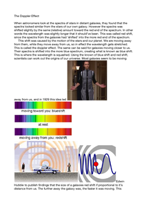 Preview of The doppler Effect
