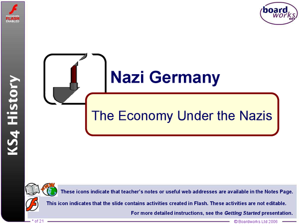 Preview of The Economy Under the Nazis