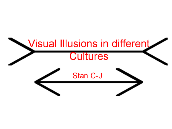 Preview of The effect of cultural differences on the perception of illusions