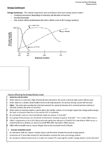 Preview of The Energy Continuum OCR PE