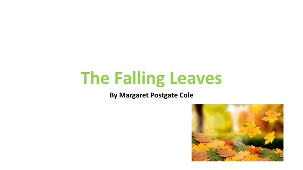 Preview of The Falling Leaves Analysis