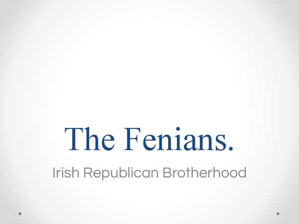 Preview of The Fenians