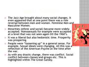 the great gatsby the jazz age essay