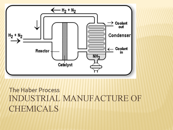 an examiantion of the haber process General certificate of secondary education higher tier june 2014  the pressure used in the haber process for the production of ammonia is 200 atmospheres.