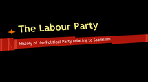 Preview of The History of the Labour Party