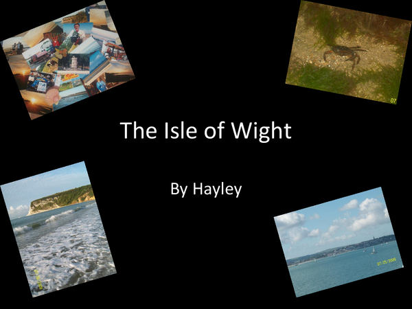 Preview of The isle of wight:Formation