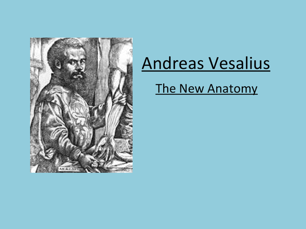 Preview of The Life of Andreas Vesalius