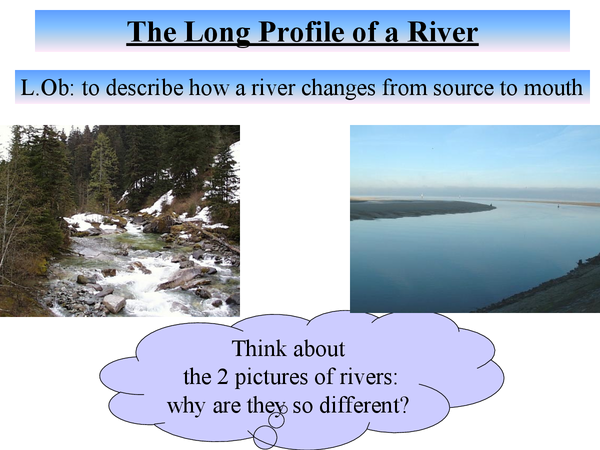 Preview of The Long Profile of a River
