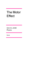 Preview of The Motor Effect