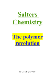 Preview of The Polymer Revolution.
