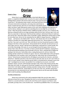 Preview of The Picture of Dorian Gray - Dorian Gray