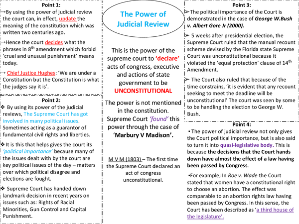 Preview of The Power of Judicial Review