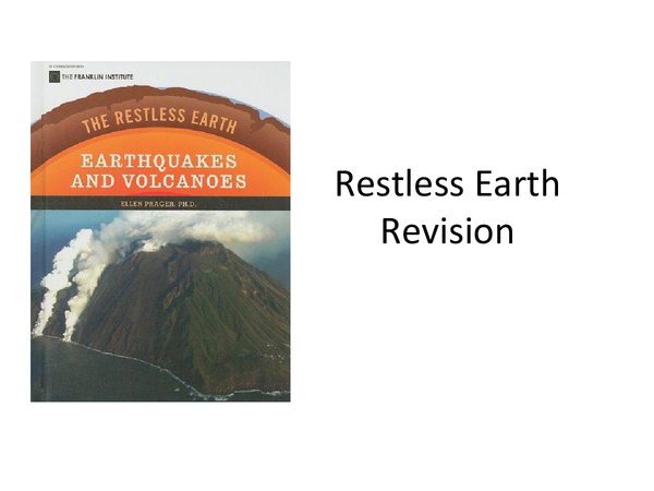 Preview of the restless earth