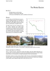 Preview of THE RHÔNE GLACIER - Glacial Tourism Case Study