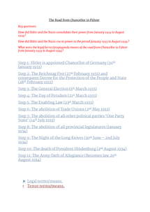 Preview of The Road from Chancellor to Führer