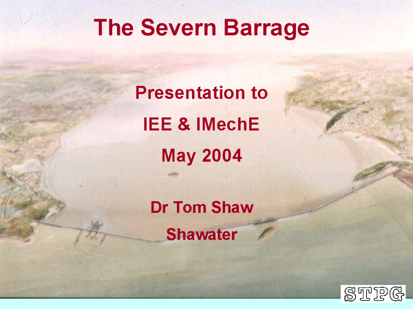 Preview of The Severn Barrage