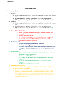 Preview of The Triumph of Elizabeth: History essay formula