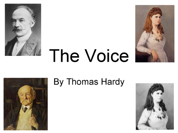 Preview of The Voice by Thomas Hardy - PowerPoint