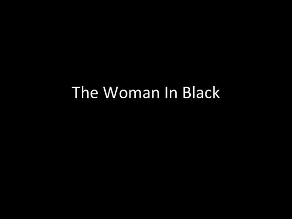 Preview of The Woman In Black by Susan Hill