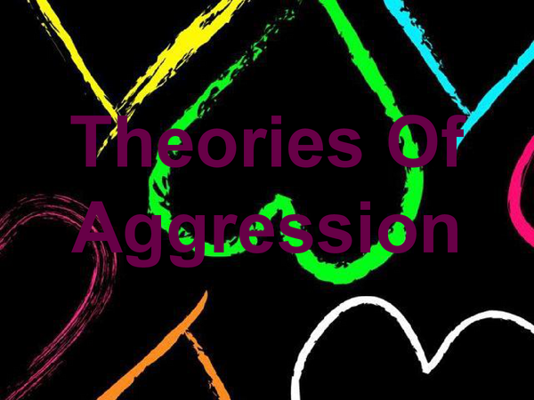 Preview of Theories Of Aggression - Topic C