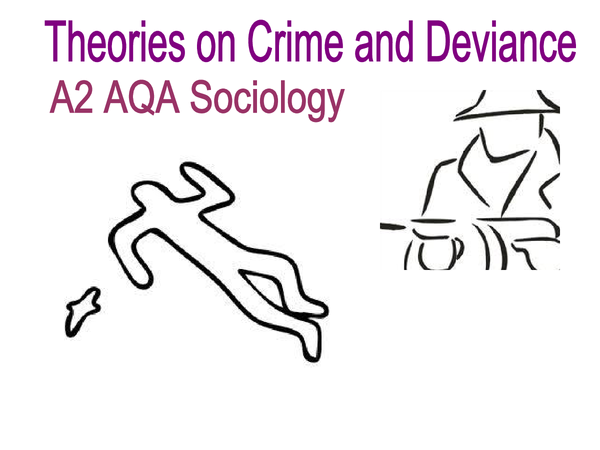 Preview of Theories on crime and deviance