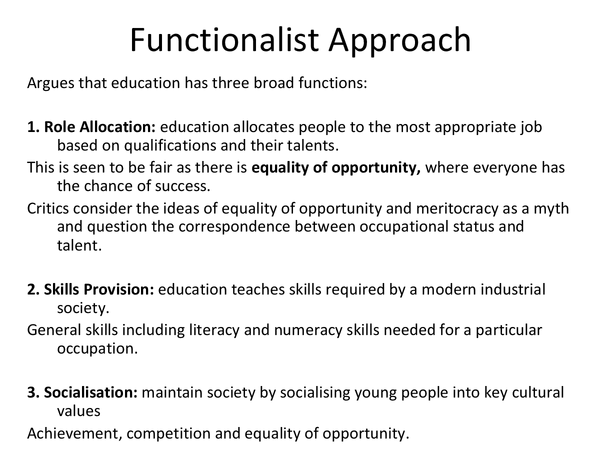 Preview of Theories on Education