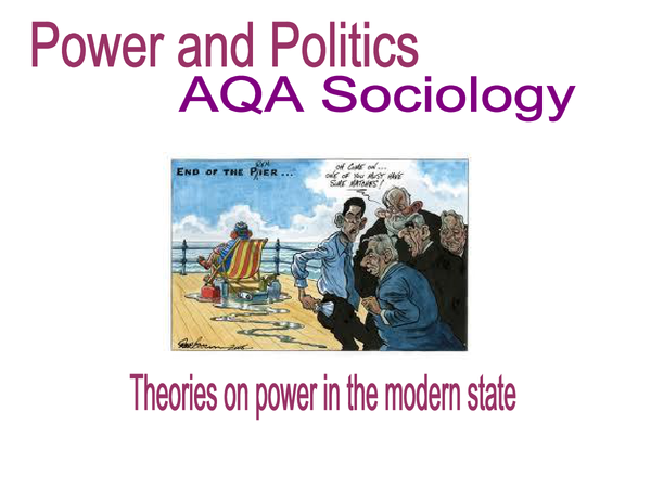 Preview of Theories on power in the modern state