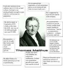 Preview of Thomas Malthus - The Pessimistic Approach
