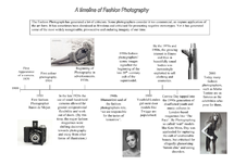 Preview of Timeline of Fashion Photography