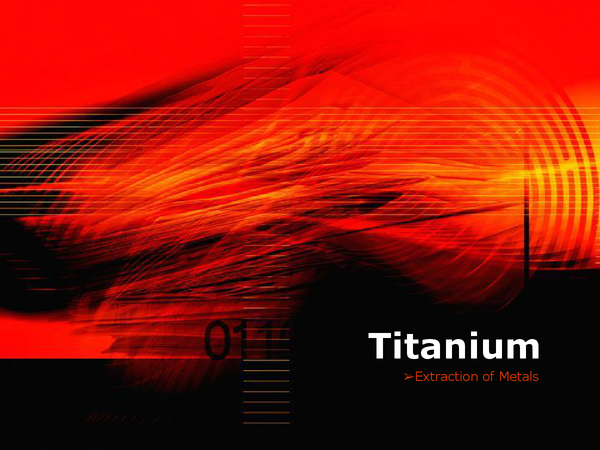 Preview of Titanium Extraction