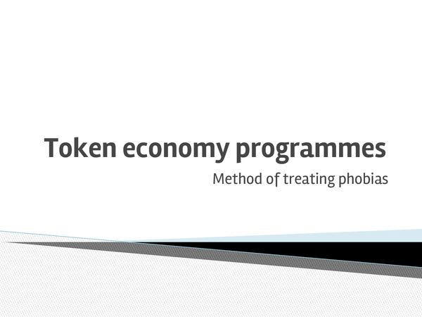 Preview of Token Economy Programmes