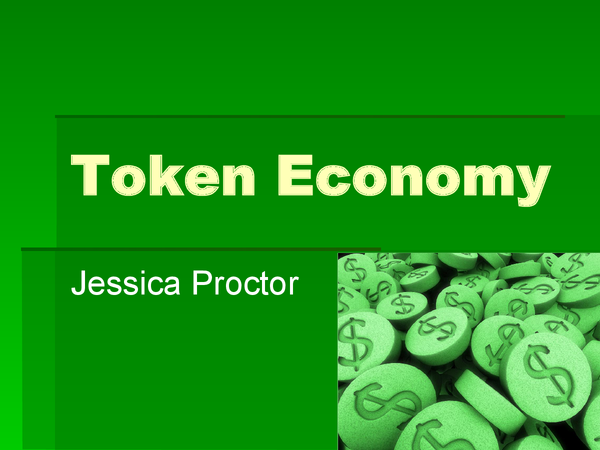 Preview of token economy presentation