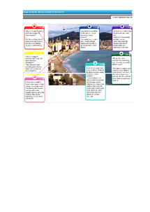 Preview of Tourism Case Study - Benidorm